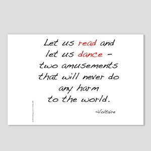 Voltaire On Dance Postcards (Package of 8)