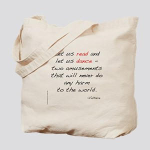 Voltaire On Dance Tote Bag