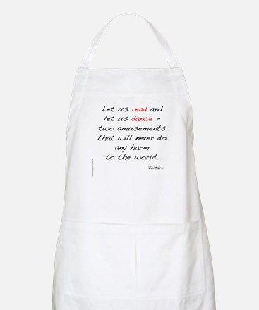Voltaire On Dance BBQ Apron