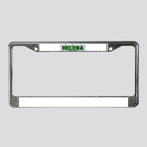 Helena, Montana License Plate Frame