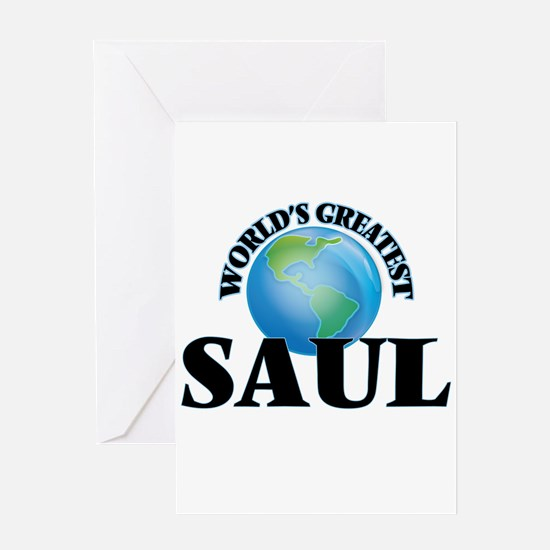 World's Greatest Saul Greeting Cards