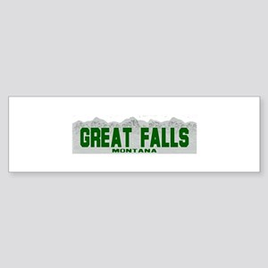 Great Falls, Montana Bumper Sticker