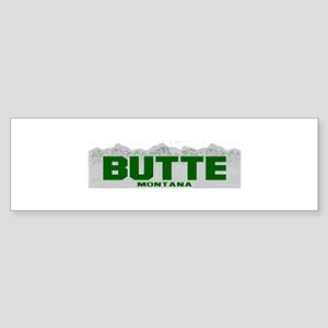 Butte, Montana Bumper Sticker