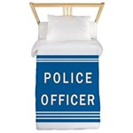 Police Officer Blues Twin Duvet