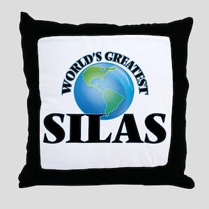 World's Greatest Silas Throw Pillow