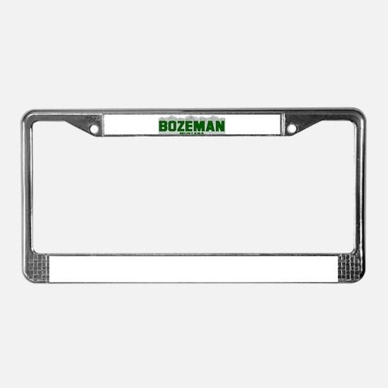 Bozeman, Montana License Plate Frame