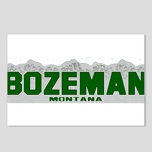 Bozeman, Montana Postcards (Package of 8)