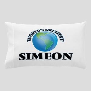 World's Greatest Simeon Pillow Case