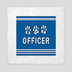 K-9 Police Queen Duvet