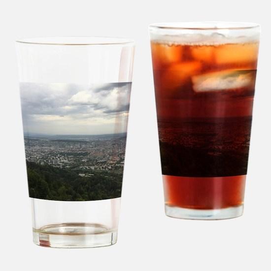 Funny Zurich Drinking Glass