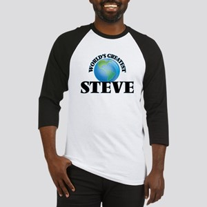 World's Greatest Steve Baseball Jersey