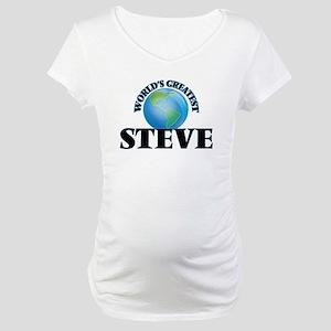 World's Greatest Steve Maternity T-Shirt