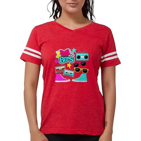 I Love The 80s - Cultura Pop Design Colorato T-shi iqTB7z