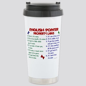 English Pointer Property Laws 2 Mugs