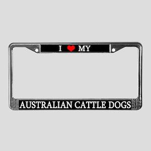 Love ACDs License Plate Frame