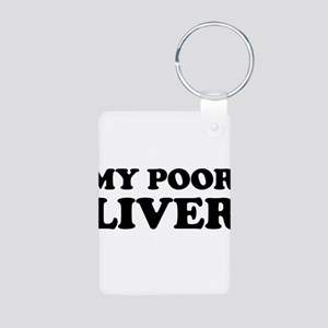 My Poor Liver Keychains