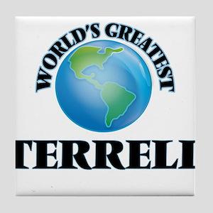 World's Greatest Terrell Tile Coaster
