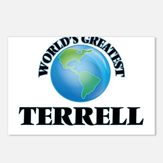 World's Greatest Terrell Postcards (Package of 8)