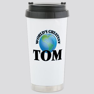 World's Greatest Tom Stainless Steel Travel Mug