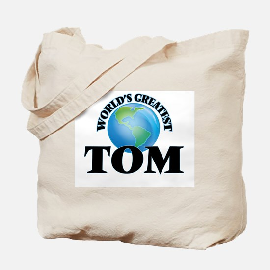 World's Greatest Tom Tote Bag