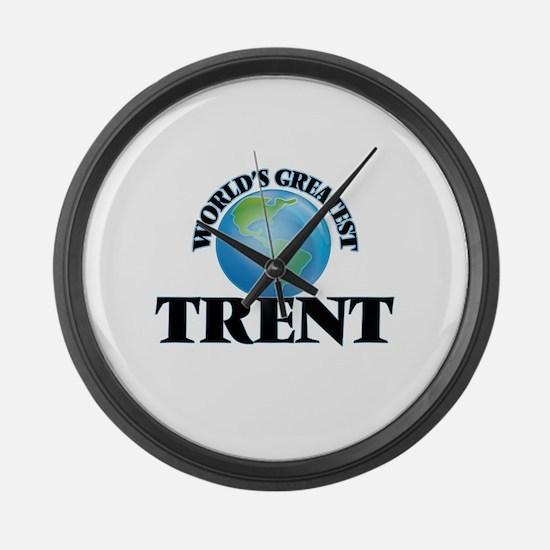 World's Greatest Trent Large Wall Clock
