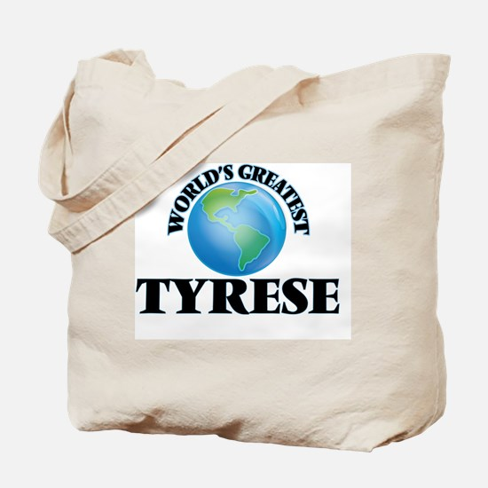 World's Greatest Tyrese Tote Bag