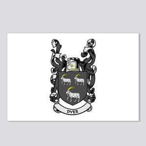 DYER Coat of Arms Postcards (Package of 8)