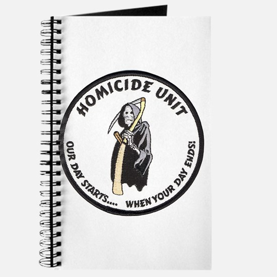 Homicide Unit Journal
