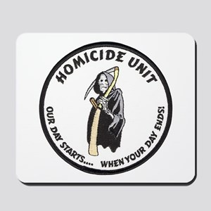 Homicide Unit Mousepad