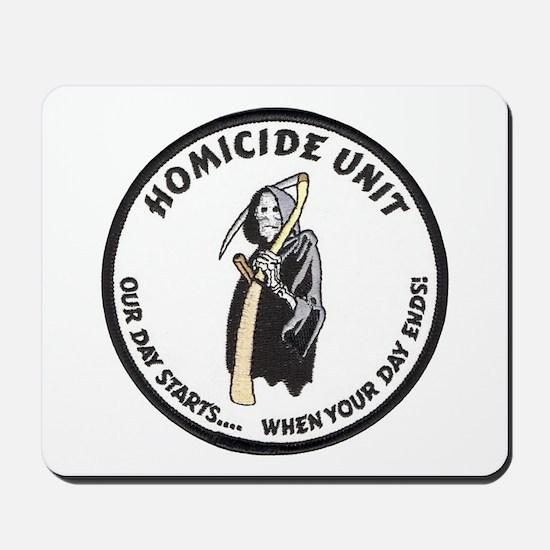 Homicide Unit Mousepad