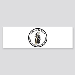Homicide Unit Bumper Sticker