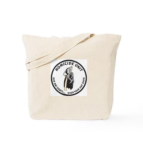 Homicide Unit Tote Bag