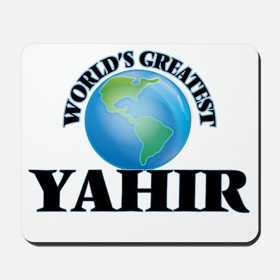 World's Greatest Yahir Mousepad