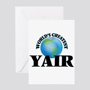 World's Greatest Yair Greeting Cards