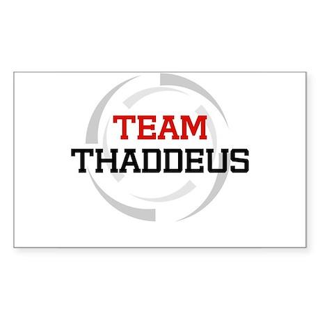 Thaddeus Rectangle Sticker