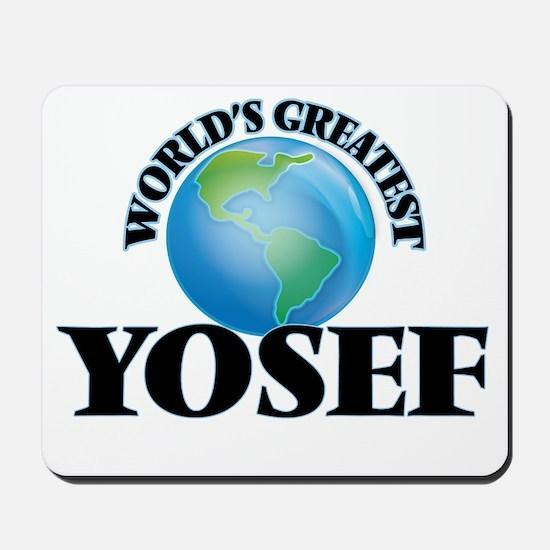 World's Greatest Yosef Mousepad