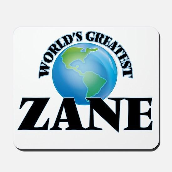 World's Greatest Zane Mousepad