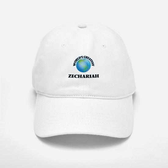 World's Greatest Zechariah Baseball Baseball Cap