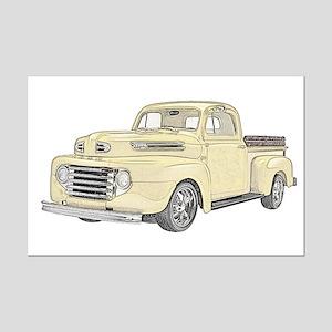 1950 Ford F1 Mini Poster Print