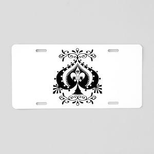 Spade Aluminum License Plate