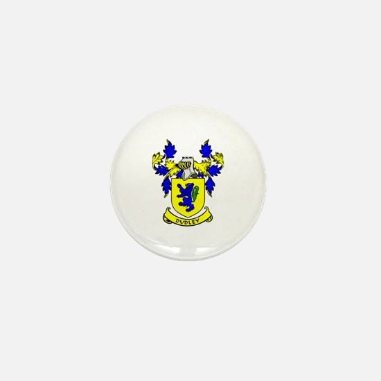 DUDLEY Coat of Arms Mini Button