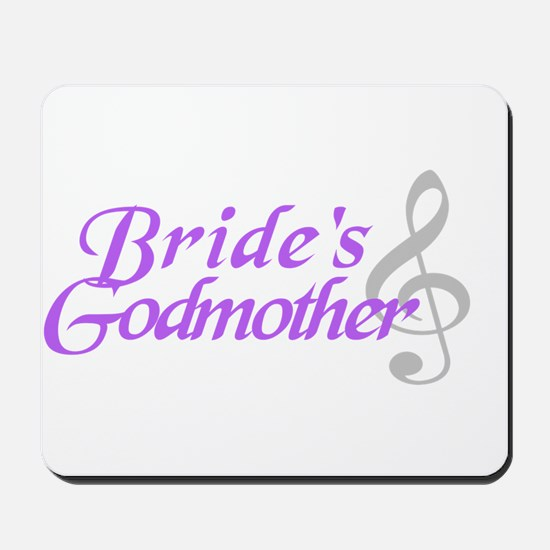 Bride's Godmother(clef) Mousepad