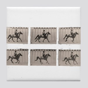 1878 Horse in Motion Tile Coaster