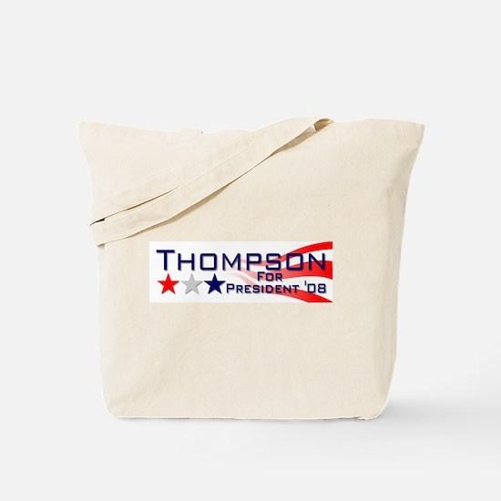 ::: Fred Thompson - Stripes ::: Tote Bag