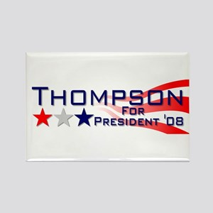::: Fred Thompson - Stripes ::: Rectangle Magnet