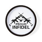 Infidel Wall Clock