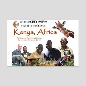 Love For Kenya MMFC Mini Poster Print