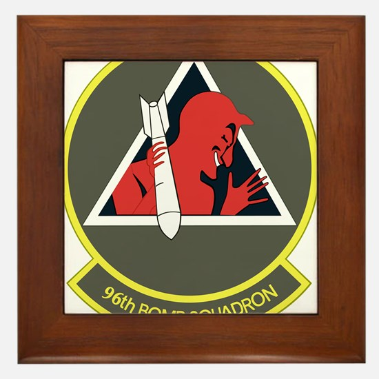 96_bomb_squadron.png Framed Tile