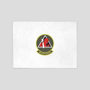 96_bomb_squadron 5'x7'Area Rug