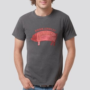 Porkaholic Mens Comfort Colors Shirt T-Shirt